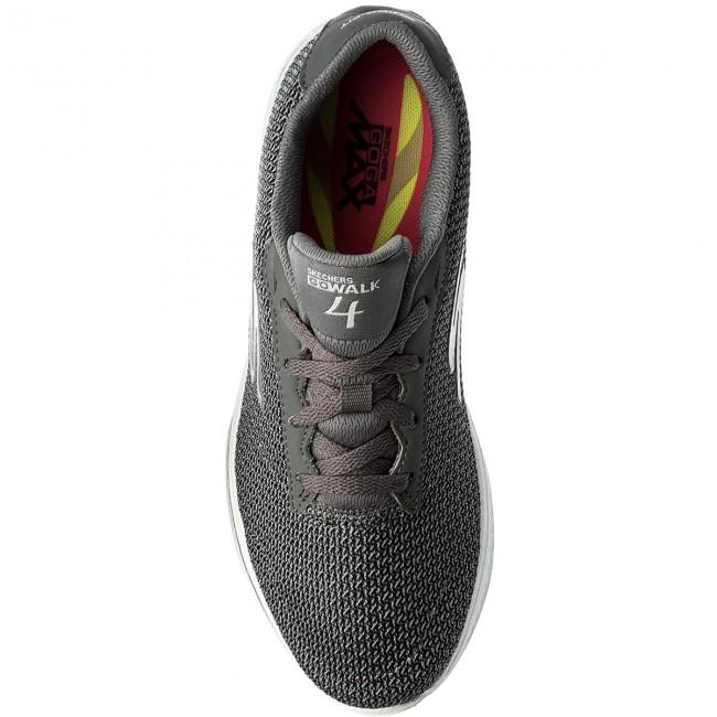 Shoes SKECHERS - Go Walk 4 14175/GRY Gray - Fitness Women's - Sports shoes - Women's Fitness shoes 8e23e5