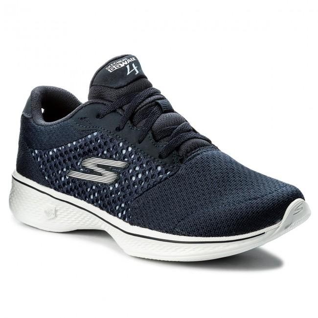 Shoes Sports SKECHERS - Exceed 14146/NVW Navy/White - Fitness - Sports Shoes shoes - Women's shoes 95b415