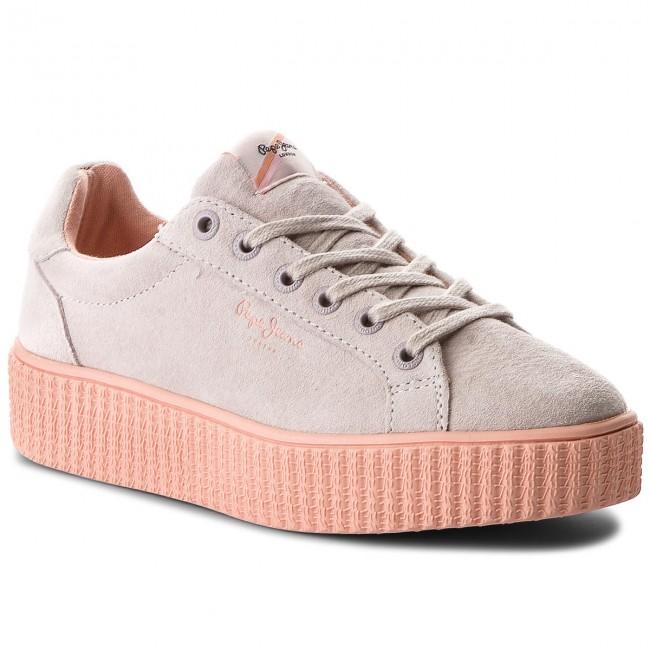 Sneakers Seasons PEPE JEANS - Frida Seasons Sneakers PLS30685 Whitewash 811 - Sneakers - Low shoes - Women's shoes ef24db