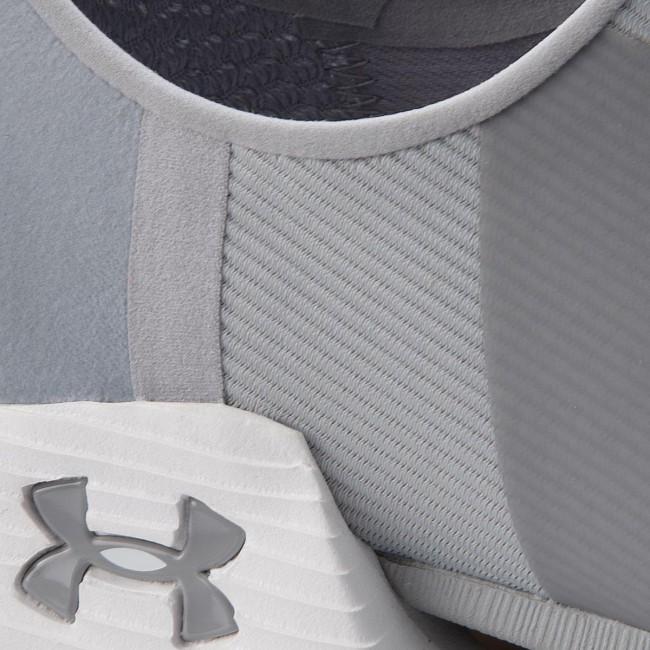 Shoes UNDER ARMOUR - Ua Ua Ua W Speedform Amp 2.0 Slip 3000258-100 Gry - Fitness - Sports shoes - Women's shoes 00ec00