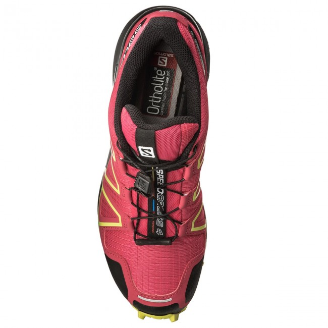 Shoes SALOMON - 21 Speedcross 4 W 398423 21 - V0 Virtual Pink/Black/Sulphur Spring - Outdoor - Running shoes - Sports shoes - Women's shoes f45593