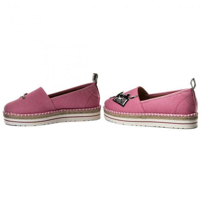 Espadrilles LOVE MOSCHINO - - - JA10213G05JE060A Canvas Rosa - Espadrilles - Low shoes - Women's shoes 1a02e3