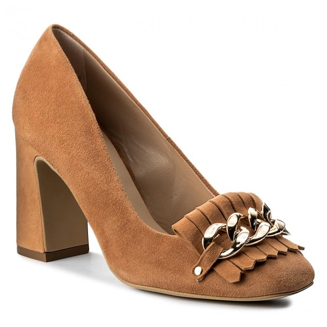 Shoes SOLO FEMME - - 20507-31-H48/000-04-00 Cuoio - Heels - - Low shoes - Women's shoes 3be057