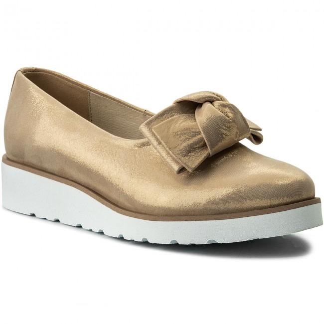 Shoes BALDACCINI - 918100-G Satynka Złoto  - - - Flats - Low shoes - Women's shoes c9b0b8