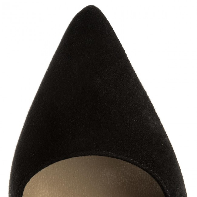 Shoes MACCIONI - 665.121.81951 Black - Wedge-heeled shoes - Low Low Low shoes - Women's shoes baf238