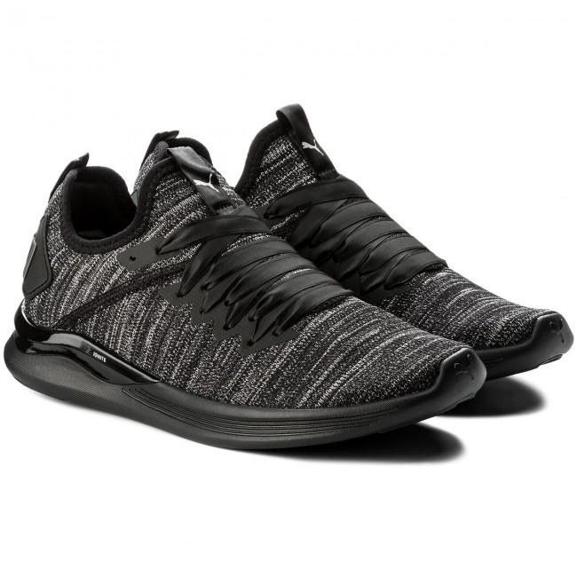 Shoes PUMA - Ignite Flash EvoKnit S Ep Wn Wn Wn 190959 01 Black/Periscope/Metal Beige - Fitness - Sports shoes - Women's shoes 75c363