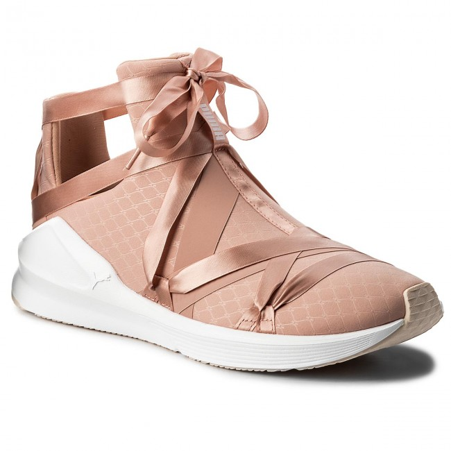 Shoes PUMA - Fierce Rope Satin Peach EP Wn's 190538 01 Peach Satin Beige/Puma White/Pearl - Fitness - Sports shoes - Women's shoes 3c6723