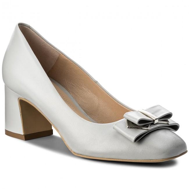 Shoes SOLO FEMME - 52306-31-G16/000-04-00 - Jasny Szary - Heels - 52306-31-G16/000-04-00 Low shoes - Women's shoes cd7540