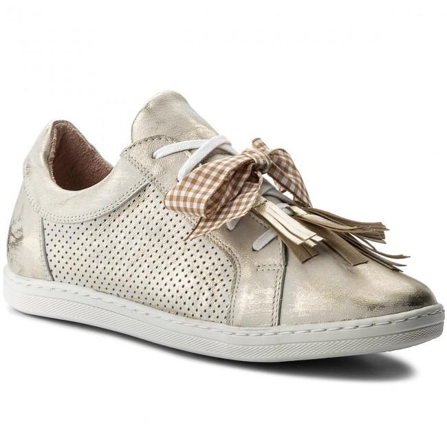 Shoes EKSBUT - 28-4765-672/F56-1G Złoto Złoto Złoto - Sneakers - Low shoes - Women's shoes 5d6b7a
