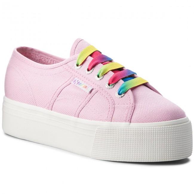 Plimsolls SUPERGA - 2790 Cotw Multicolor Outsole S00DPY0 Pink Lavender Low G30 - Sneakers - Low Lavender shoes - Women's shoes 4c2a6e