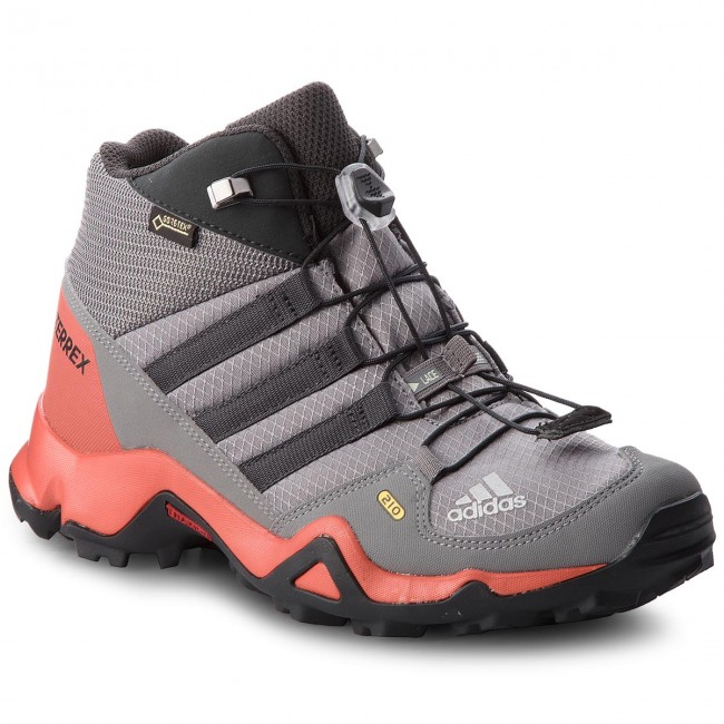 Shoes adidas K - Terrex Mid Gtx K adidas GORE-TEX CM7711 Grethr/Grethr/Carbon - Trekker boots - High boots and others - Women's shoes 63fb0d