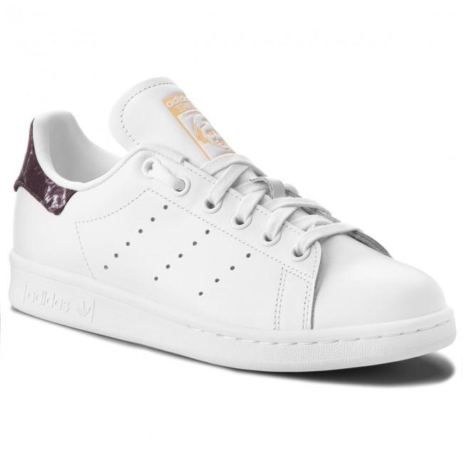 chaussures adidas - stan smith ah2456 ftwwht ftwwht ftwwht cNoir Ormt - tennis - bas chaussures chaussures - femmes b054dd