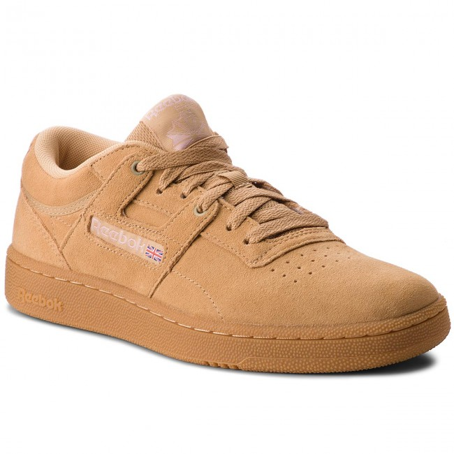 Shoes Reebok - Club Club - Workout Mu CN3863 Beige/Baby Skin/Gum - Sneakers - Low shoes - Men's shoes c5d078