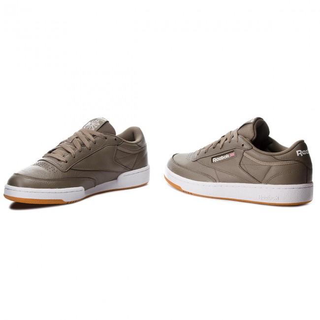Shoes Reebok - Club C 85 Mu CN5776 Terrain Grey/White/Gum shoes - Sneakers - Low shoes Grey/White/Gum - Men's shoes ffa87c
