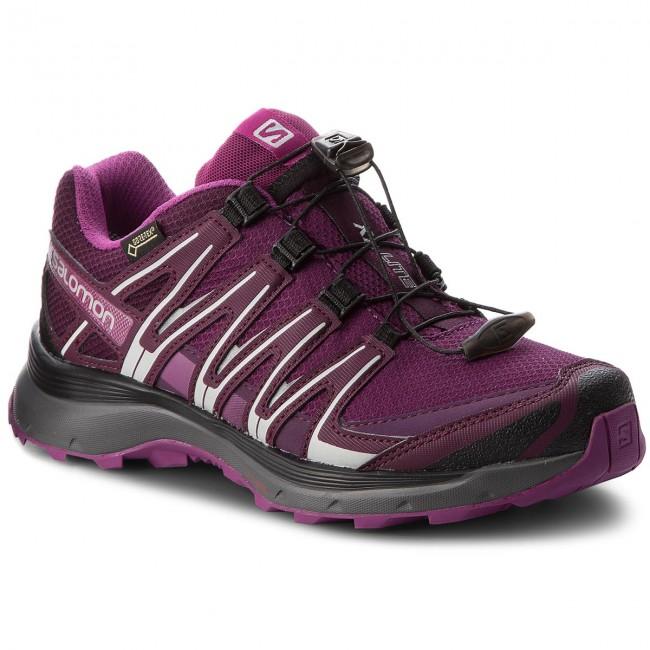 Shoes SALOMON - Xa Lite Gtx W GORE-TEX 406106 21 - V0 Dark Purple/Potent Purple/Hollyhock - 21 Outdoor - Running shoes - Sports shoes - Women's shoes 6f7e3a