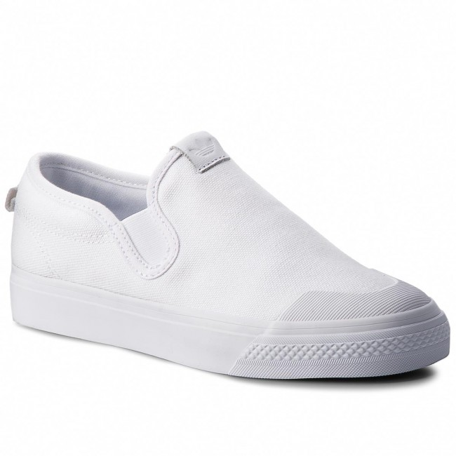 chaussures adidas - nizza nizza nizza slipon w cq3103 ftwwht ftwwht - tennis - bas chaussures chaussures - femmes | Durable En Usage  7c6fca