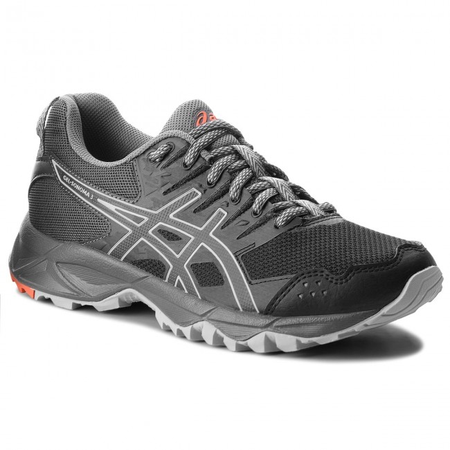 Shoes ASICS - Gel-Sonoma 3 T774N  Black/Dark - Grey 001 - Outdoor - Black/Dark Running shoes - Sports shoes - Women's shoes a4fd6e