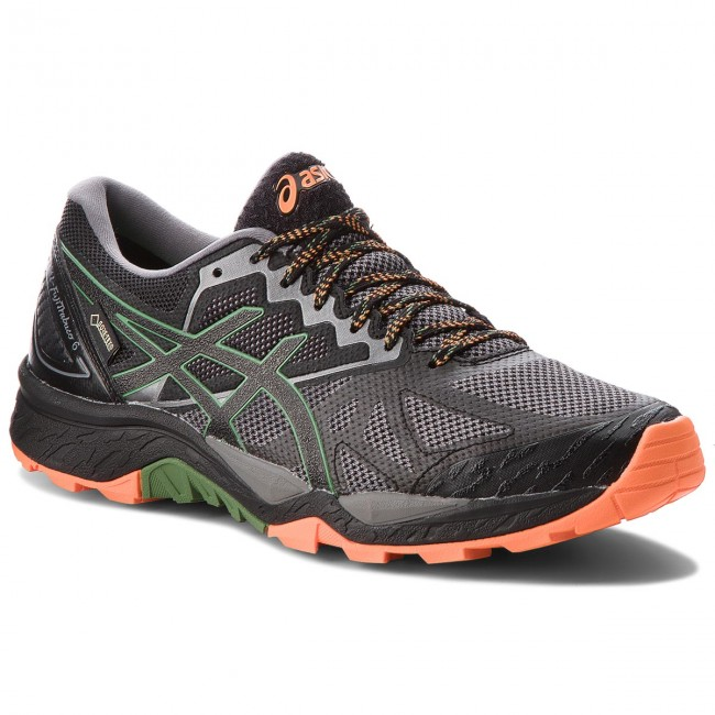 Shoes ASICS - Gel-FujiTrabuco 6 G-TX GORE-TEX T7F0N  Carbon/Black Running 020 - Outdoor - Running Carbon/Black shoes - Sports shoes - Women's shoes 81c370