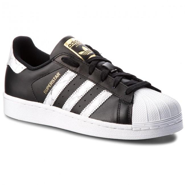 Shoes adidas - Superstar D96800 Cblack/Ftwwht/Gold.F - Sneakers - Low Low - shoes - Men's shoes 4f2a54