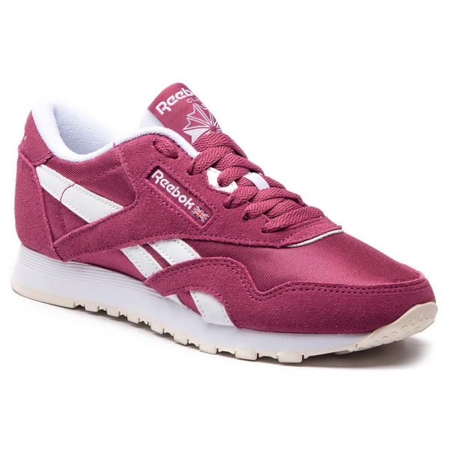 Shoes Reebok Twisted - Cl Nylon CN4018 Twisted Reebok Berry/White/Chalk  - Sneakers - Low shoes - Women's shoes 464de3