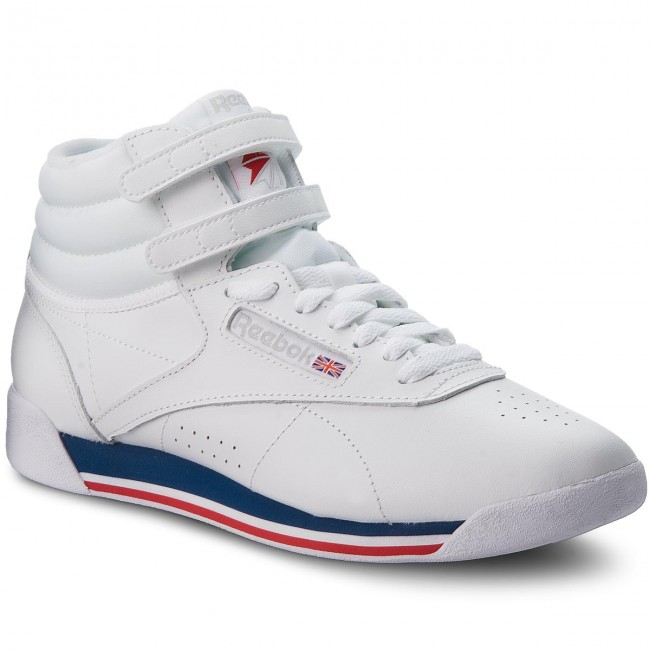 Shoes Reebok - F/S Hi CN2964 - White/Blue/Primal Red/Gry - Sneakers - CN2964 Low shoes - Women's shoes fab6aa