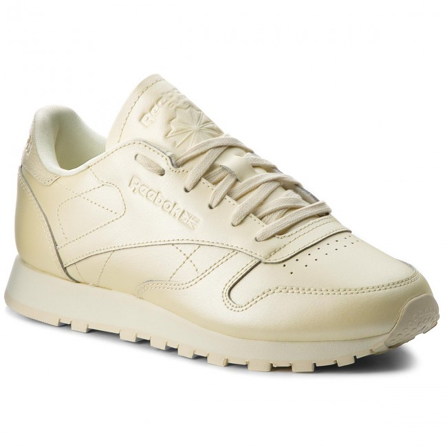 Shoes Reebok - shoes Cl Lthr CN5469 Washed Yellow Low CN5469 - Sneakers -  Low shoes - Women s shoes 2380eda f865ded96