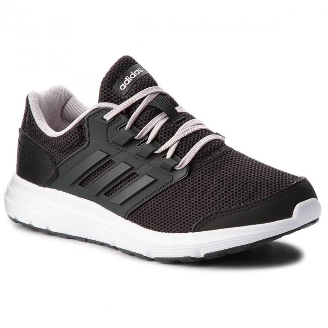 lowest price 01af1 93970 chaussures adidas - galaxie 4 b43837 cNoir carbon carbon carbon icepur -  indoor - tennis - chaussures de sport - les chaussures de ed1de8