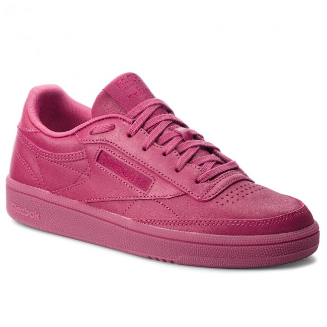 Shoes Reebok -  Club C - 85 CN3733 Twisted Berry/White - C Sneakers - Low shoes - Women's shoes b42ffb