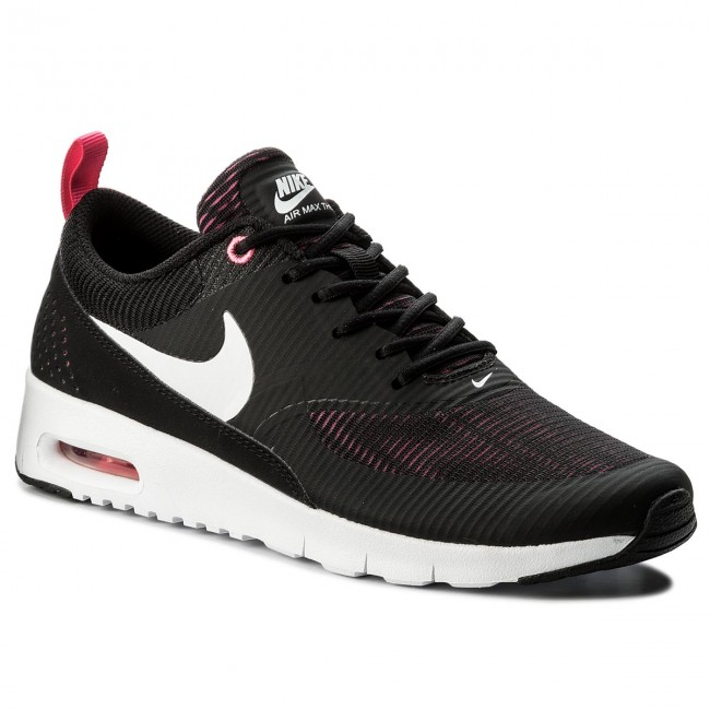 Shoes NIKE - Air Max Thea Se (GS) - 820244 610 Hyper Pink/White/Black - (GS) Sneakers - Low shoes - Women's shoes d6936b
