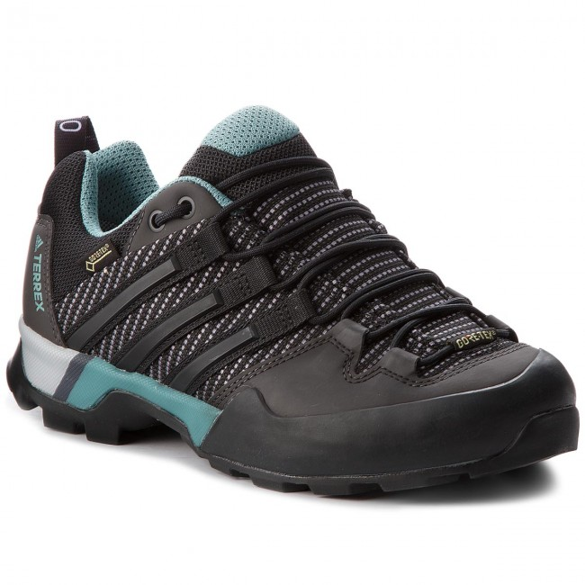 Shoes adidas - Terrex Scope Gtx W GORE-TEX CM7476 Carben/Cblack/Ashgrn shoes - Outdoor - Running shoes Carben/Cblack/Ashgrn - Sports shoes - Women's shoes 6367aa
