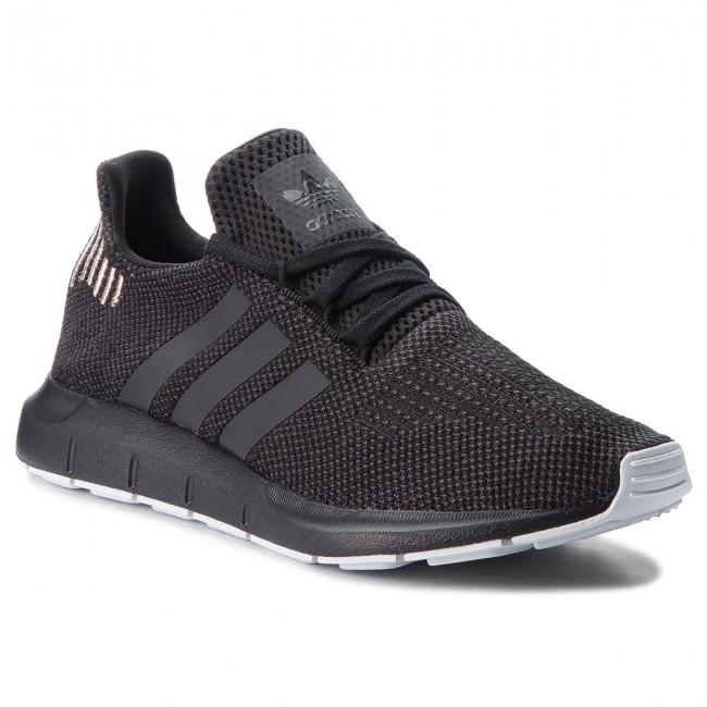 Shoes adidas - Swift Run W B37723 Cblack/Carbon/Ftwwht - Sneakers Women's - Low shoes - Women's Sneakers shoes 72e9c7