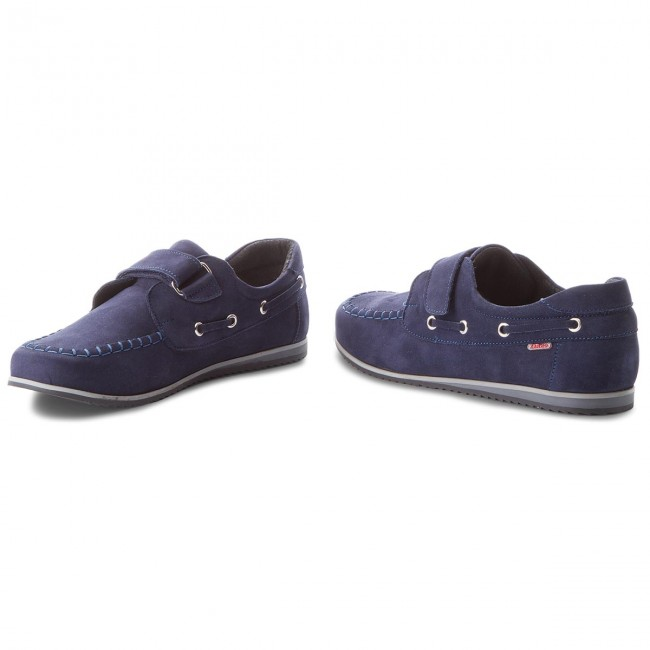 Shoes ZARRO - 2077/M/00 Granat Nubuk Nubuk Nubuk - Velcro - Low shoes - Boy - Kids' shoes 8a0c6a