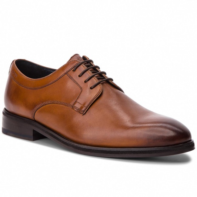 a4b2d068877 Shoes JOOP! - Kleitos 4140004171 Cognac Cognac Cognac 703 - Formal shoes -  Low shoes