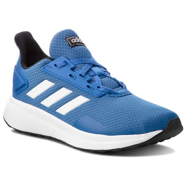 Shoes adidas BB7060 - Duramo 9 K BB7060 adidas Blue/Ftwwht/Cblack - Indoor - Running shoes - Sports shoes - Women's shoes aa71bd