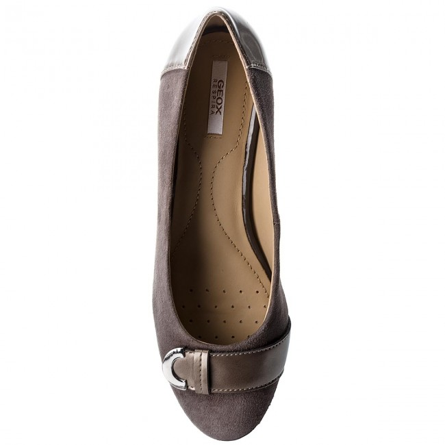 Vente chaude | chaussures geox geox geox - d floralie un d74t4a 021bc c6004 chestnut - wedge heeled Chaussure s - bas chaussures chaussures - femmes 264617