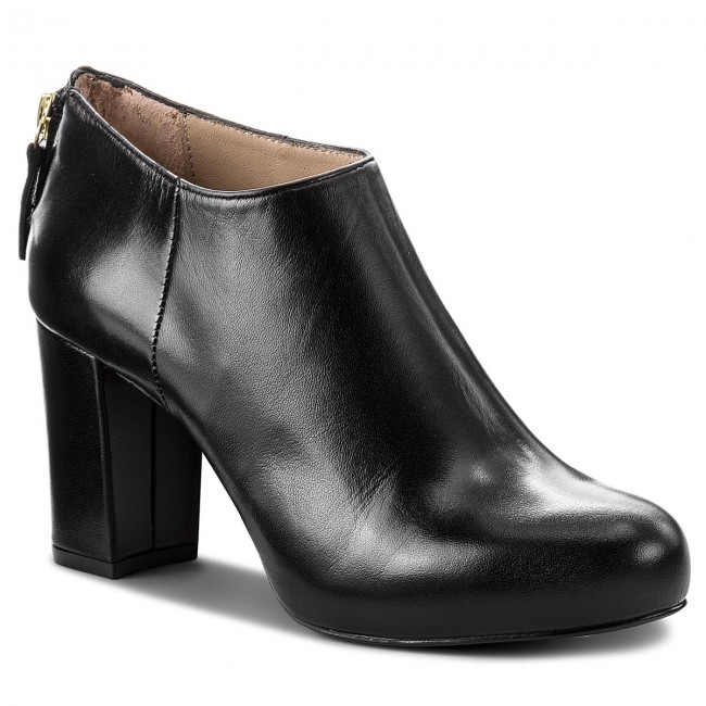 Shoes UNISA Black - Nicolas F18 Na Black UNISA Napasilk - Heels - Low shoes - Women's shoes daa0bf