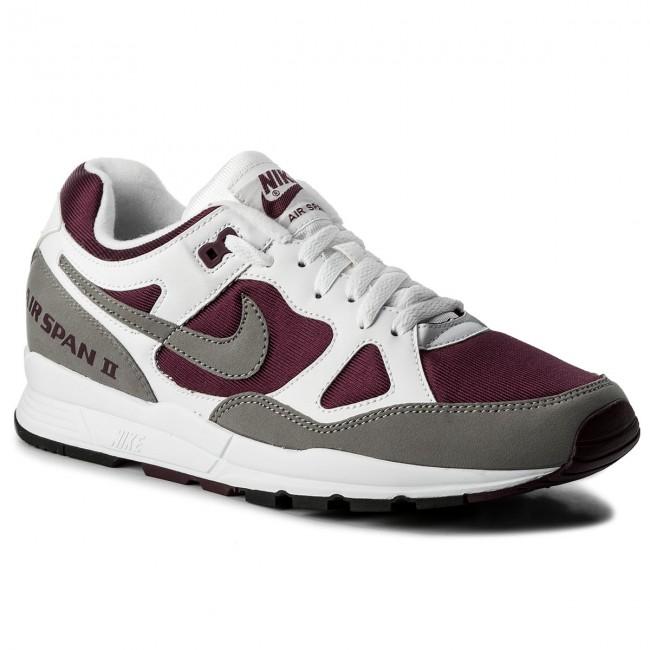 Shoes NIKE - Air Span II AH8047 102 White/Dust Bordeaux/ Black Black Bordeaux/ - Sneakers - Low shoes - Men's shoes 287e9d