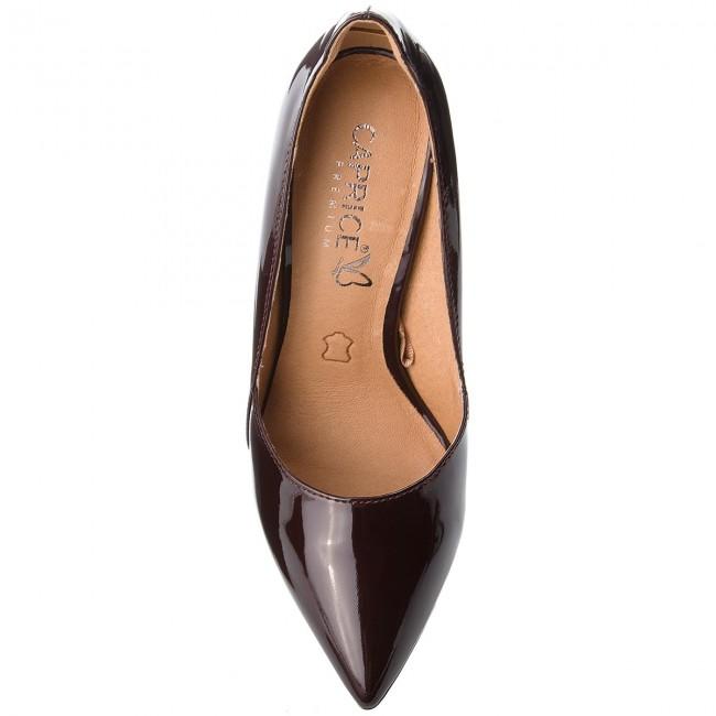 Shoes CAPRICE - 9-22401-21 Bordeaux Pat. 541 - Heels Heels Heels - Low shoes - Women's shoes ba35e1
