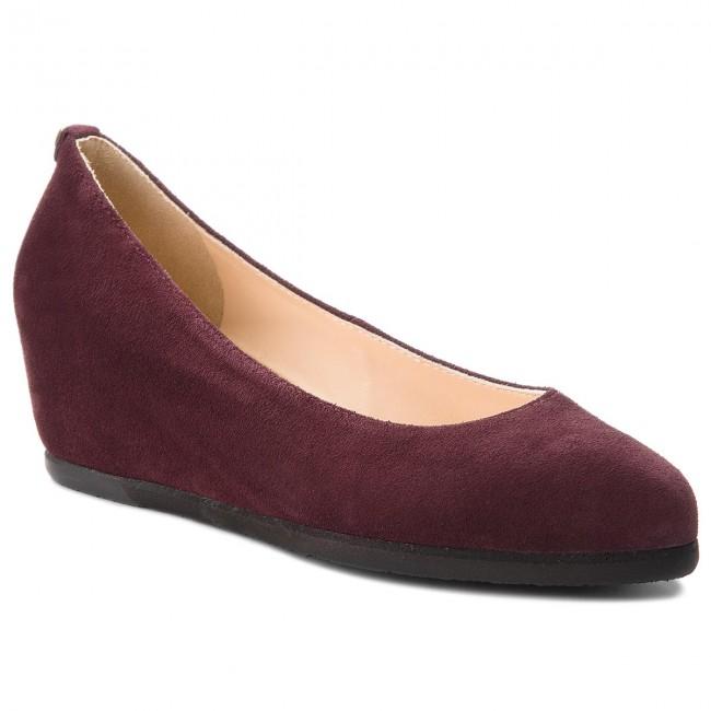 Shoes HÖGL - 6-104202 Darkplum 8100 - Wedge-heeled shoes Women's - Low shoes - Women's shoes shoes 2e53e9