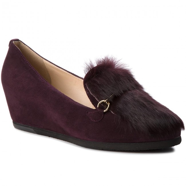 Shoes HÖGL - - 6-104222 Darkplum 8100 - HÖGL Wedge-heeled shoes - Low shoes - Women's shoes 6750d4