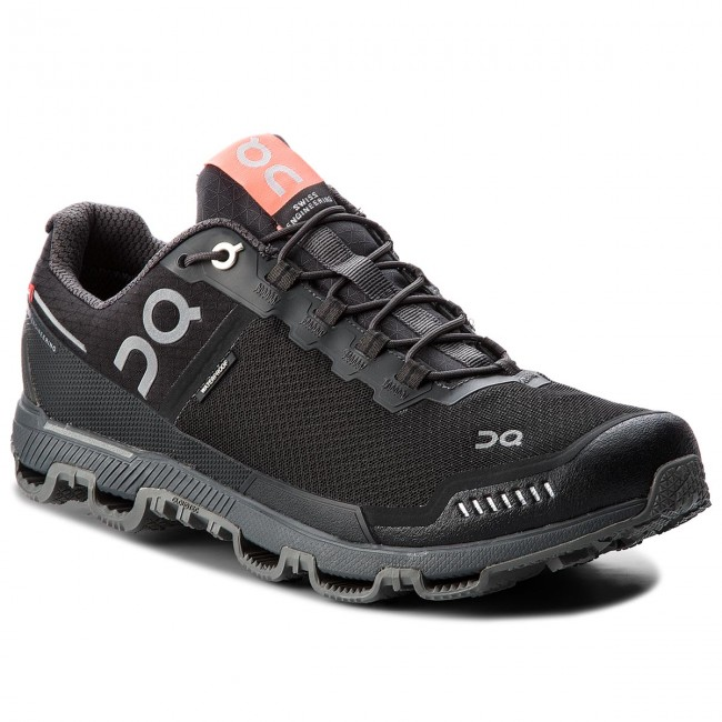Shoes 000012 ON - Cloudventure Waterproof 000012 Shoes Black/Dark 0024 - Outdoor - Running shoes - Sports shoes - Men's shoes 835716