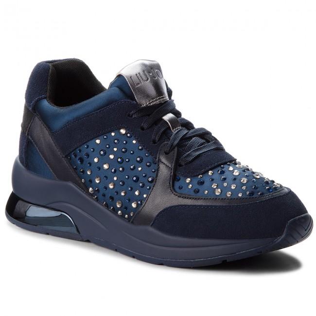 Sneakers LIU JO - Karlie 05 - B68003 TX003 Blue 09361 - 05 Sneakers - Low shoes - Women's shoes 15e0a9