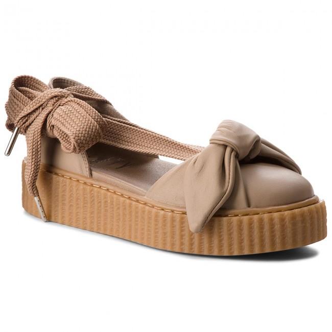 Shoes PUMA - 365794 03 Natural/Natural/Oatmeal - Wedge-heeled - shoes - Low shoes - Wedge-heeled Women's shoes 6405ef