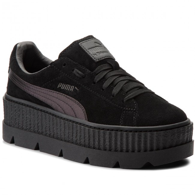 Sneakers PUMA - Cleated CreeperSuede 366268 04 Puma Low Black - Sneakers - Low Puma shoes - Women's shoes 45cf21