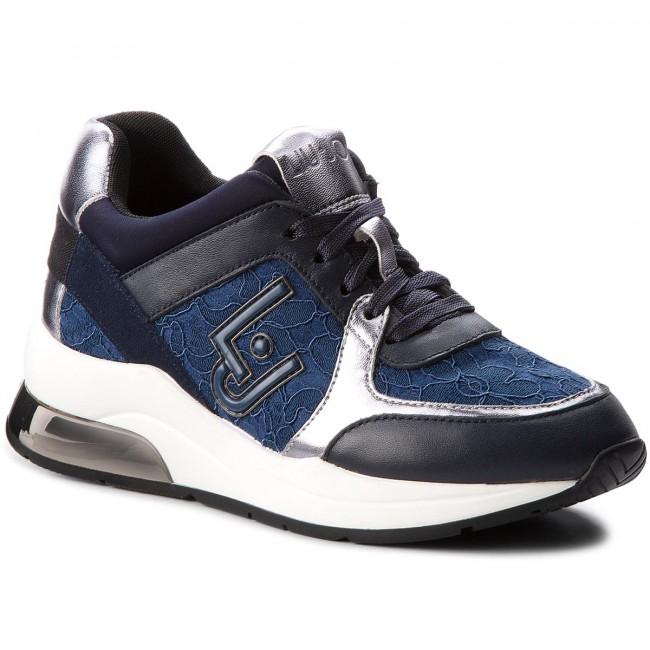 Sneakers LIU JO - Karlie 05 B68003 TX002 Blue 09361 shoes - Sneakers - Low shoes 09361 - Women's shoes 60fdd3