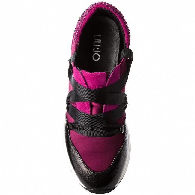 Sneakers LIU JO - Karlie 03 B68001 TX001 Fuxia 82336 shoes - Sneakers - Low shoes 82336 - Women's shoes 6c1491