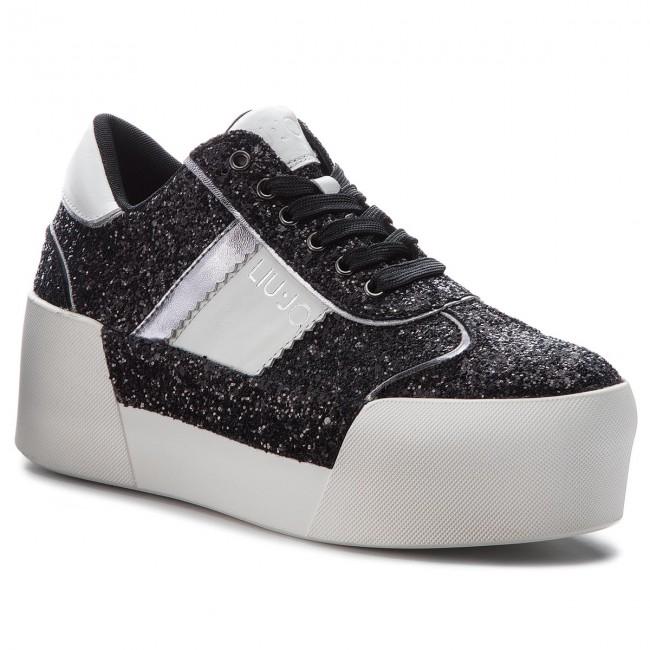 Sneakers LIU JO - Maxy 22222 01 B68013 TX007 Black 22222 Maxy - Sneakers - Low shoes - Women's shoes 336a7e