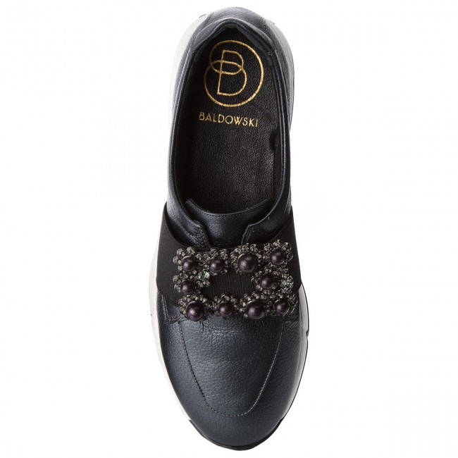 Shoes BALDOWSKI - Flats W00547-0046-002 Groszek Grafit - Flats - - Low shoes - Women's shoes 43c7ce