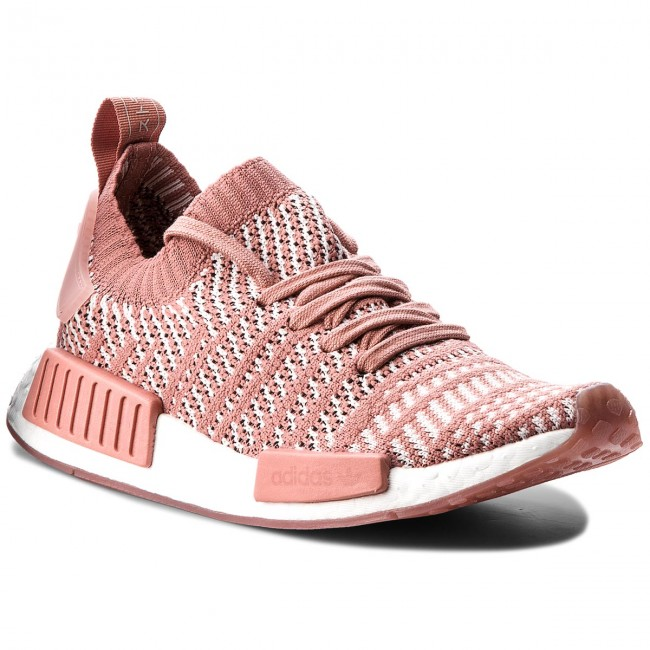 Shoes adidas - Nmd_R1 - Stlt Pk CQ2028 Ashpink/Orctin/Ftwwht - Nmd_R1 Sneakers - Low shoes - Women's shoes 20a474