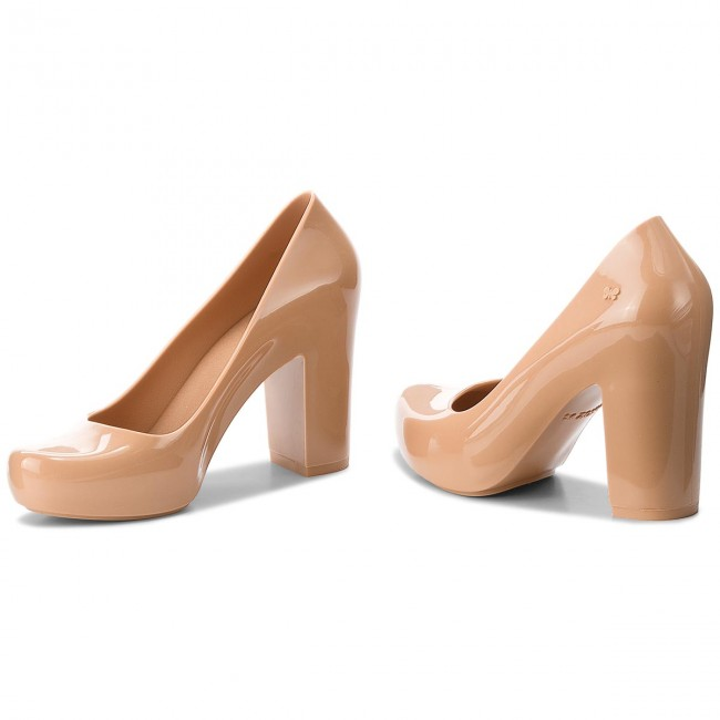 Shoes ZAXY - Fever Salto Ad 17352 17352 17352 Carmel Gladki 90273 BB285052 02064 - Heels - Low shoes - Women's shoes 26ccfb